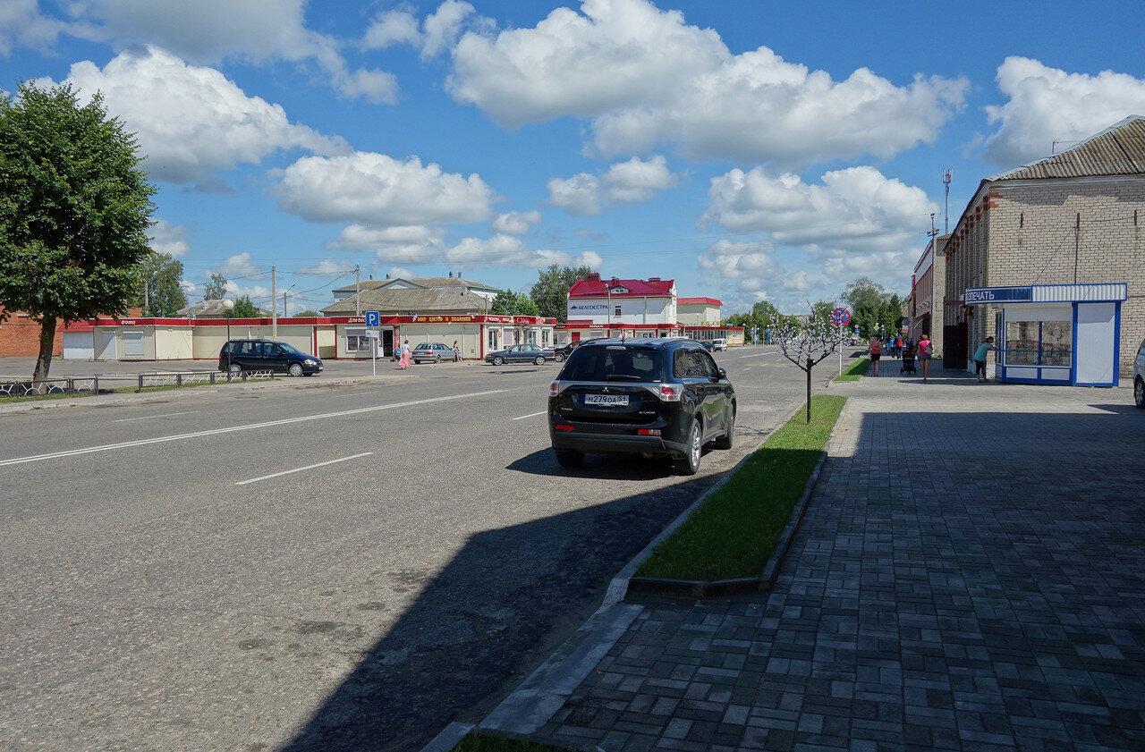 Коммунистическая улица и гость из Мурманска