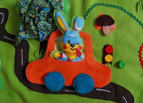 Развивающий коврик для детей Моулвиль... легковой автомобиль
