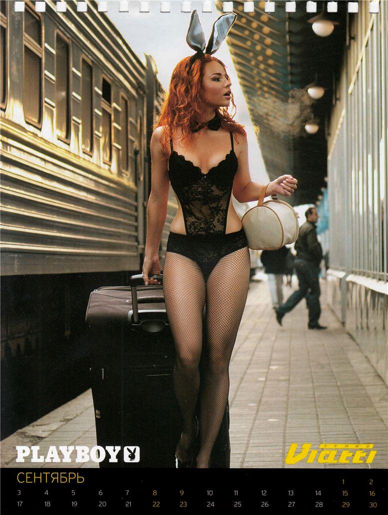 календарь журнала Playboy на 2012 год - модель Марина Амери