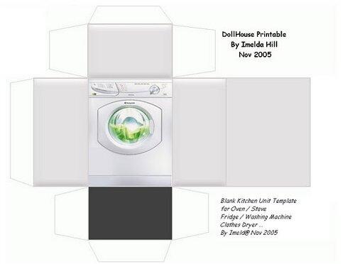 Как сделать стиральную машину для барби своими руками