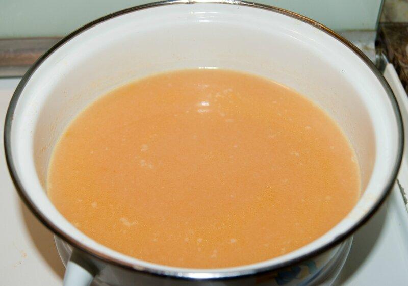 Суп-пюре по-милански