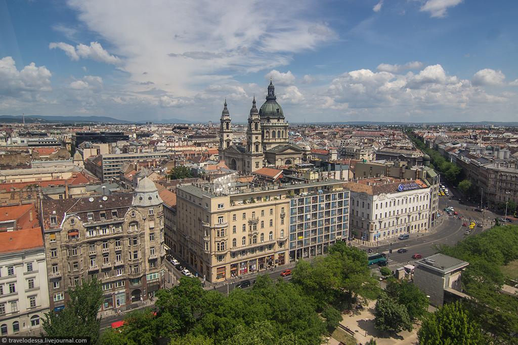 Будапешт 360° сквозь мутное стекло колеса обозрения