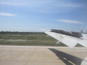 Приземление на самолете