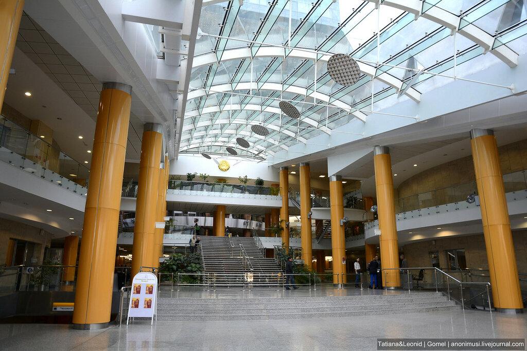 Национальная библиотека Беларуси в Минске