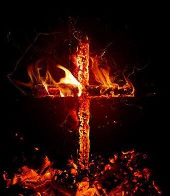 Горящий крест