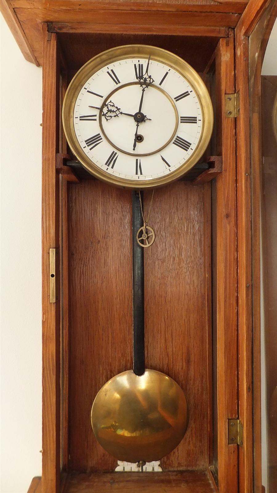 Часы с маятником своими руками