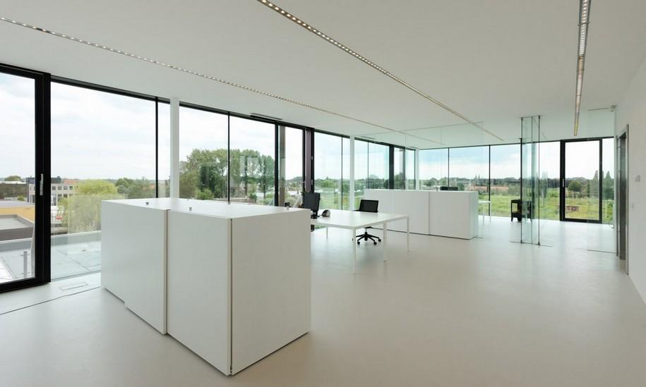 Офис над складом от I Love Architecture в Амстердаме
