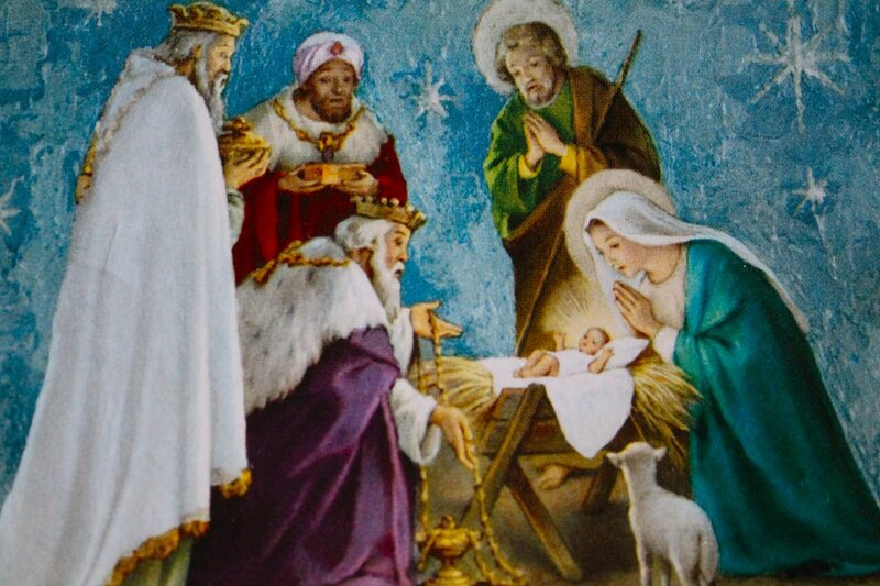 На рождество Христово