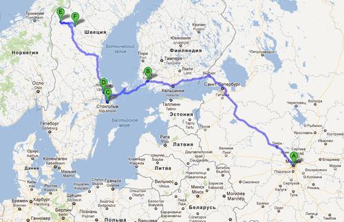 DutyFree's » Швеция, Оре: 13 дней на машине из Москвы ...: http://dutyfrees.ru/europe/sweden-13-days/
