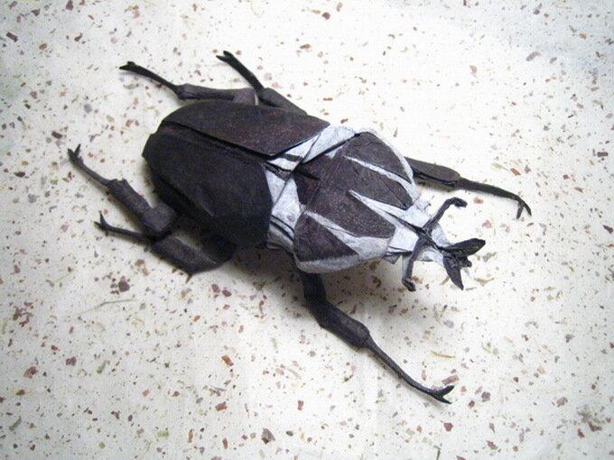 Оригами - насекомые Brian Chan