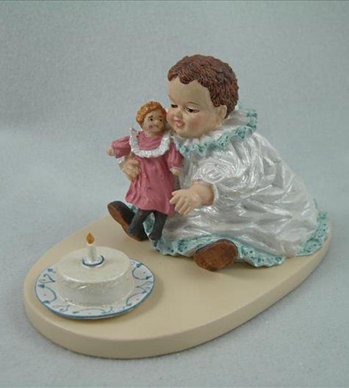 Куколки-статуэтки, сделанные по детским художественным образам Мод Хамфри Богарт