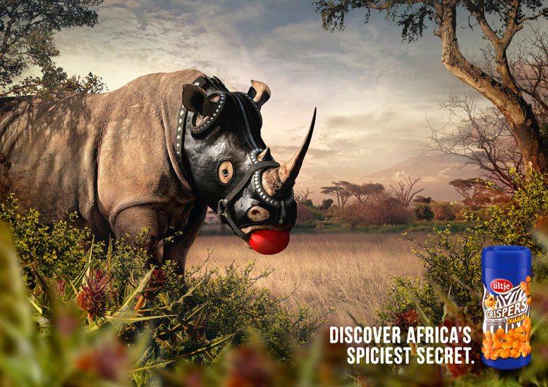 Галлюциногенный арахис - сексуальные пристрастия носорогов
