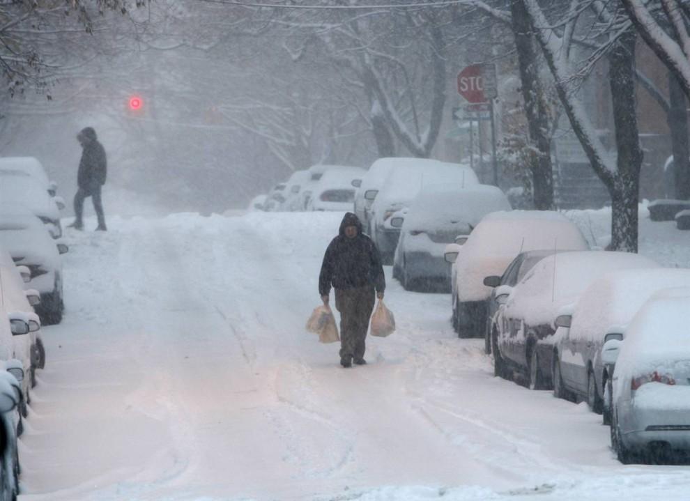 Зима в Олбани, Нью-Йорк, Майк Гролл, 2009