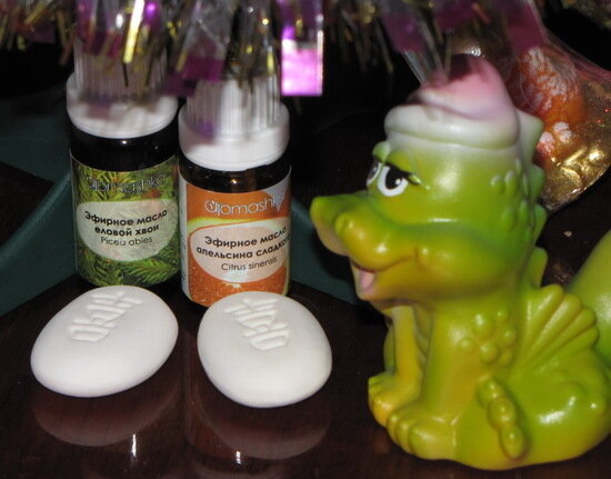 новогодние ароматы 2012