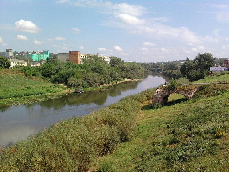 Река Днепр в Смоленске