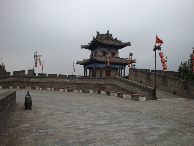 Городская стена Сианя. Китай