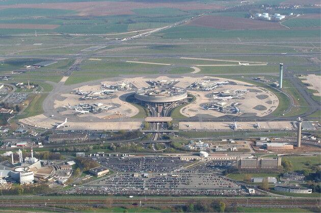 Аэропорт Руасси-Шарль-де-Голль (Paris-Charles-de-Gaulle)
