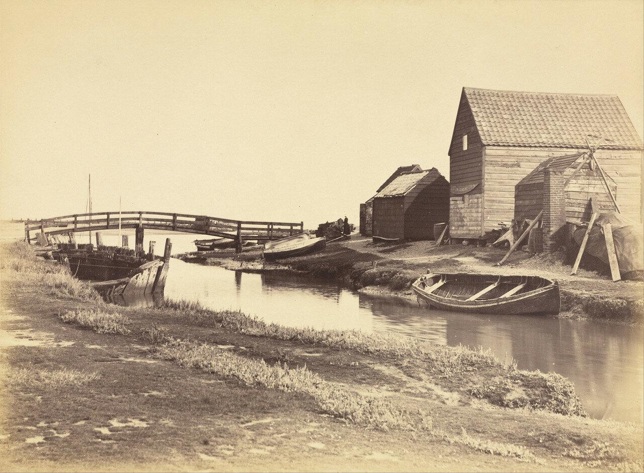 22. Приливной канал и склады к югу от Саутволда