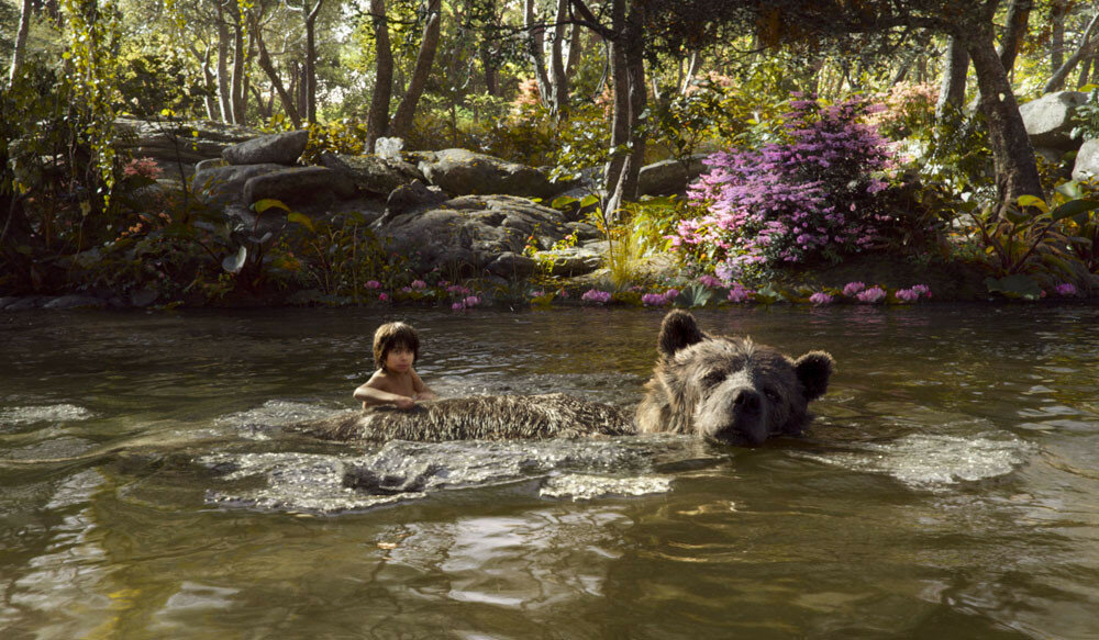 THE JUNGLE BOOK (Pictured) MOWGLI and BALOO. ?2016 Disney Enterprises, Inc. All Rights Reserved.