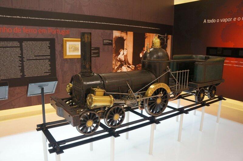 Национальный музей ЖД Португалии
