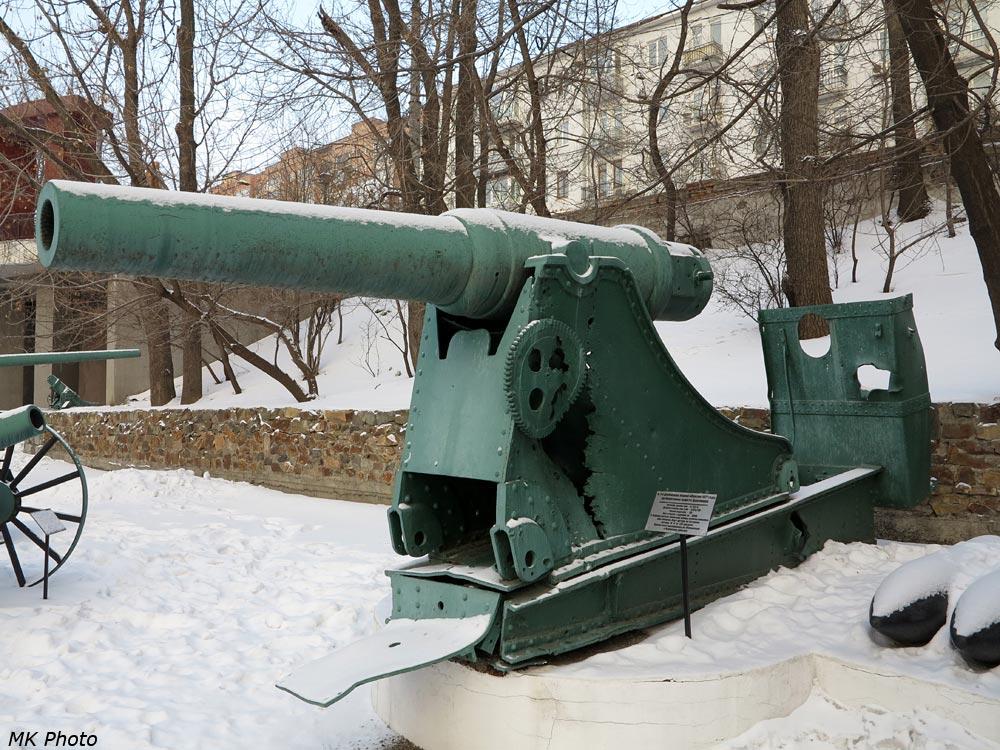 Пушка с обороны Порт-Артура