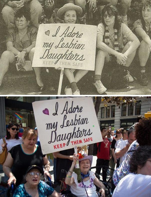 Американский протест, есть чему поучиться!