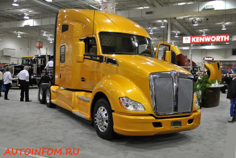 Выставка грузовиков 2016