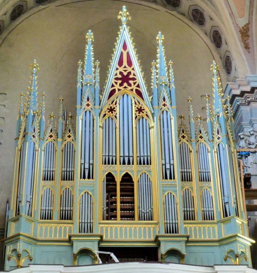 Каунас, собор Петра и Павла, орган