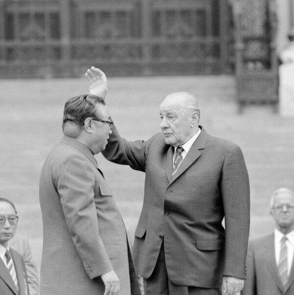 Редкое фото Ким Ир Сена