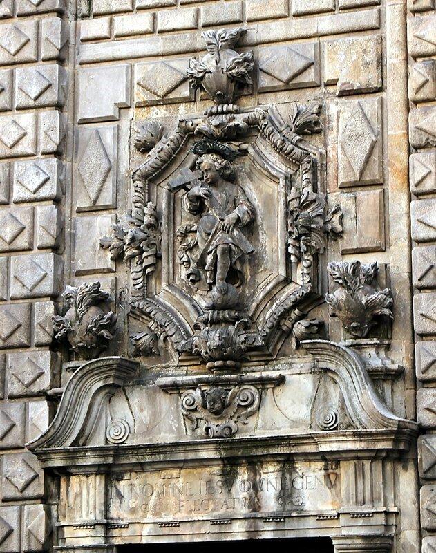 Барселона. Церковь Вифлеемской Богоматери (Església de la Mare de Déu de Betlem)