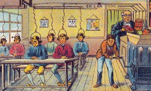 Мир через 100 лет: как видели будущее люди в 1900 году. (11 фото)