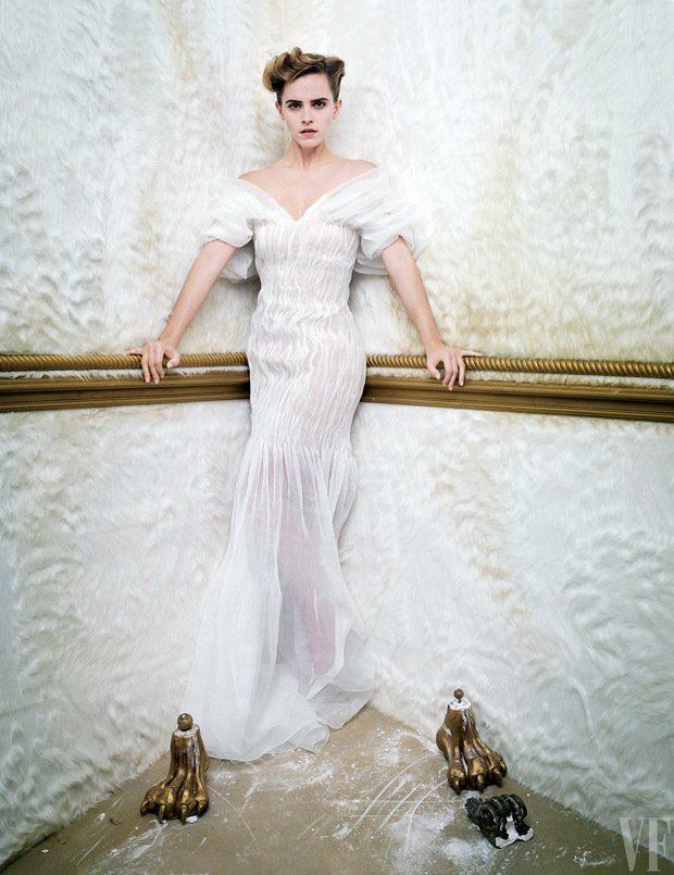 Эмма Уотсон в кавер-стори Vanity Fair