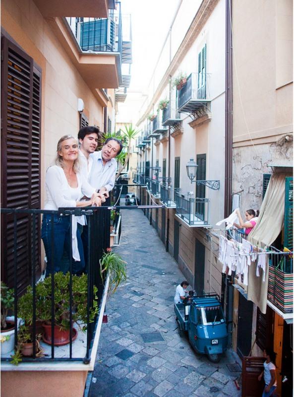 21 Семья Вениро. Палермо, Италия
