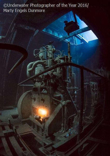 4. Марти Энгельс Данмор из Саффолка удостоилась титула «самого перспективного британского подводного