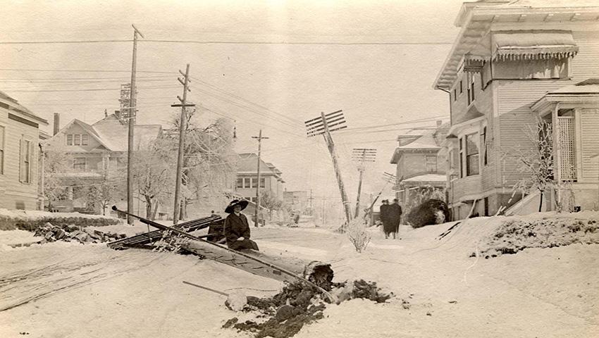 8. Новая Англия, США 1717 — 274 сантиметра снега В 18 столетии еще не существовало точных метеоролог