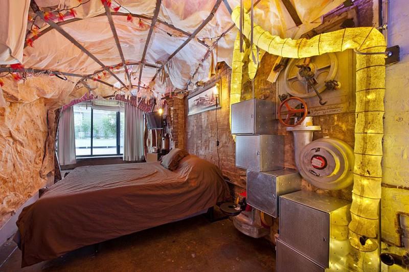 Стимпанк квартира в Нью-Йорке