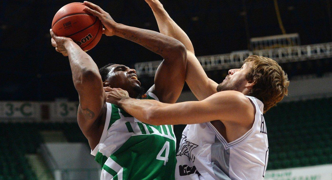 Баскетболисты УНИКСа обыграли «Астану» вматче Единой лиги ВТБ