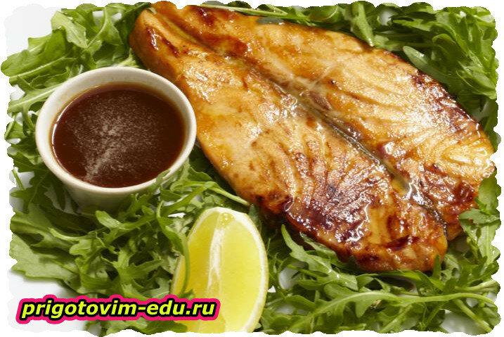 Рыба с вином по-азиатски в аэрогриле