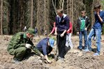 14 мая в Озёрском благочинии прошла экологическая акция Лес Победы. В ней приняли участие молодёжные организации городского округа Озёры, экологическая волонтёрская группа Озёрского благочиния