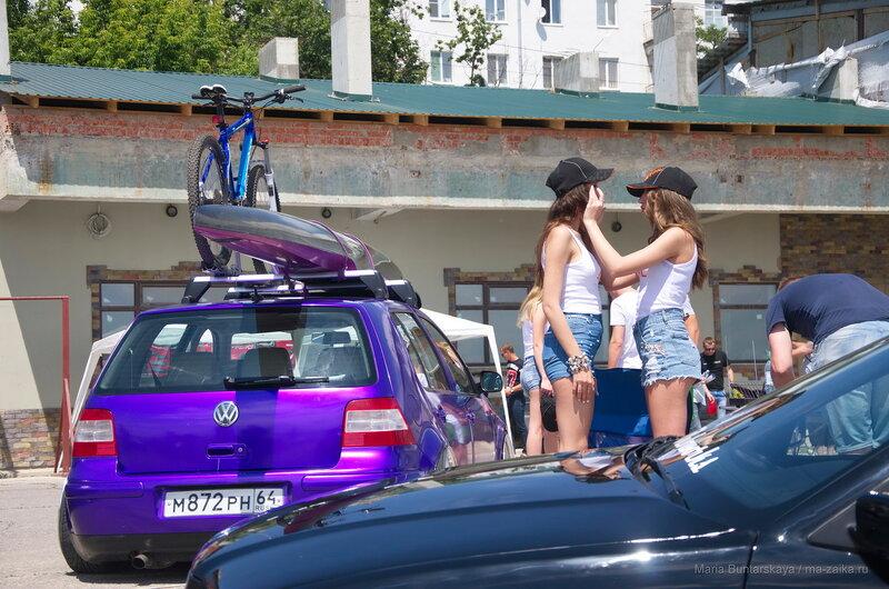VolgaCarHoliday, Саратов, Набережная Космонавтов, 11 июня 2016 года
