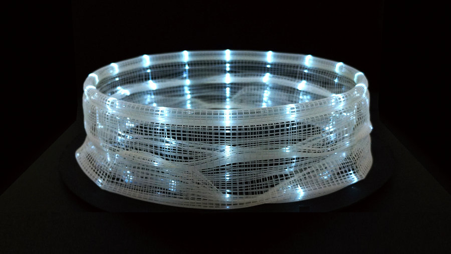 A Fascinating 3D-Printed Light-Based Zoetrope by Akinori Goto