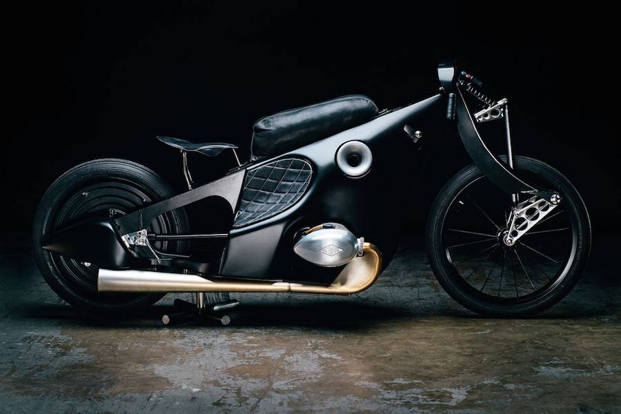 Gorgeous Revival of BMW Landspeeder Motorcycle (11 pics)