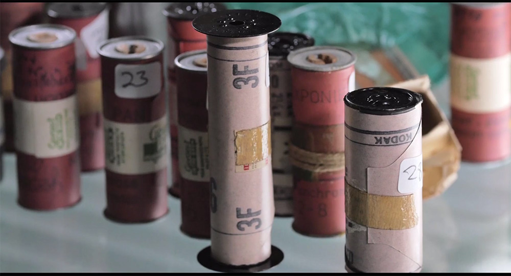 The Rescued Film Project Discovers 31 Rolls of Undeveloped Film Shot by an Unknown WW2 Soldier
