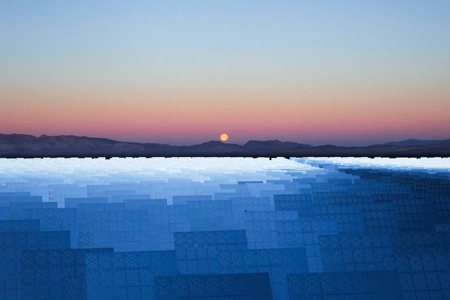Stunning Pictures of a Solar Panel Reserve (8 pics)