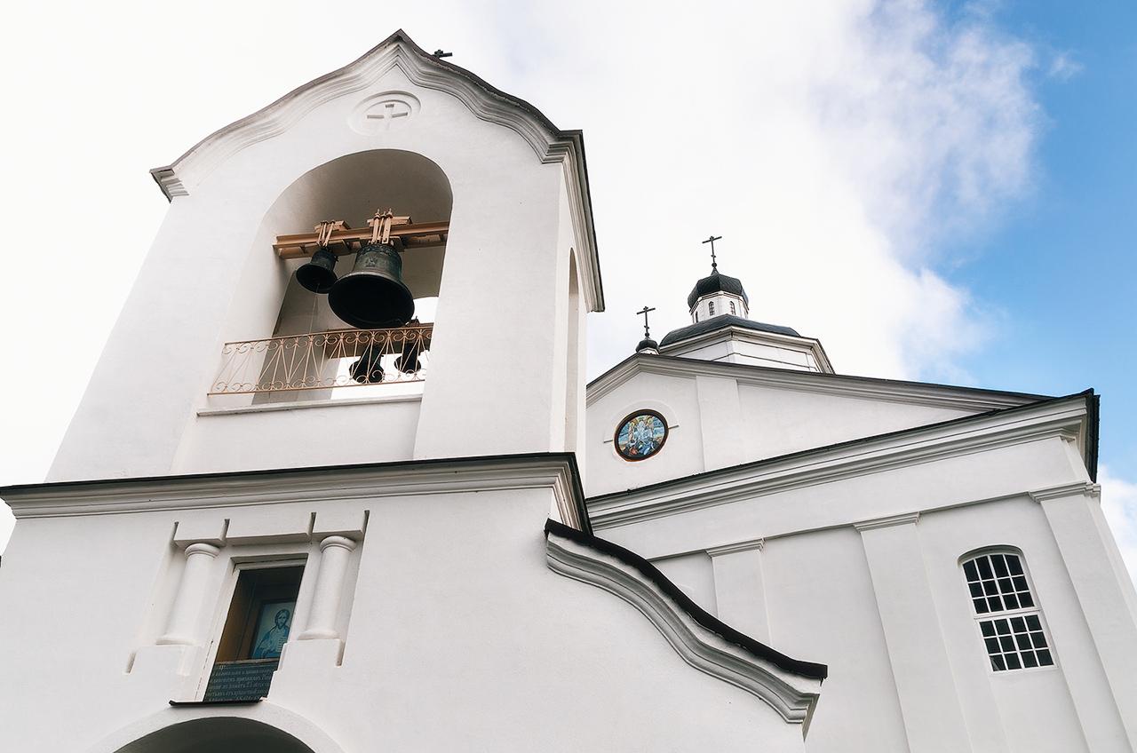 Блогиналибоки. Раков, Беларусь. Церковь Спасо-Преображенская