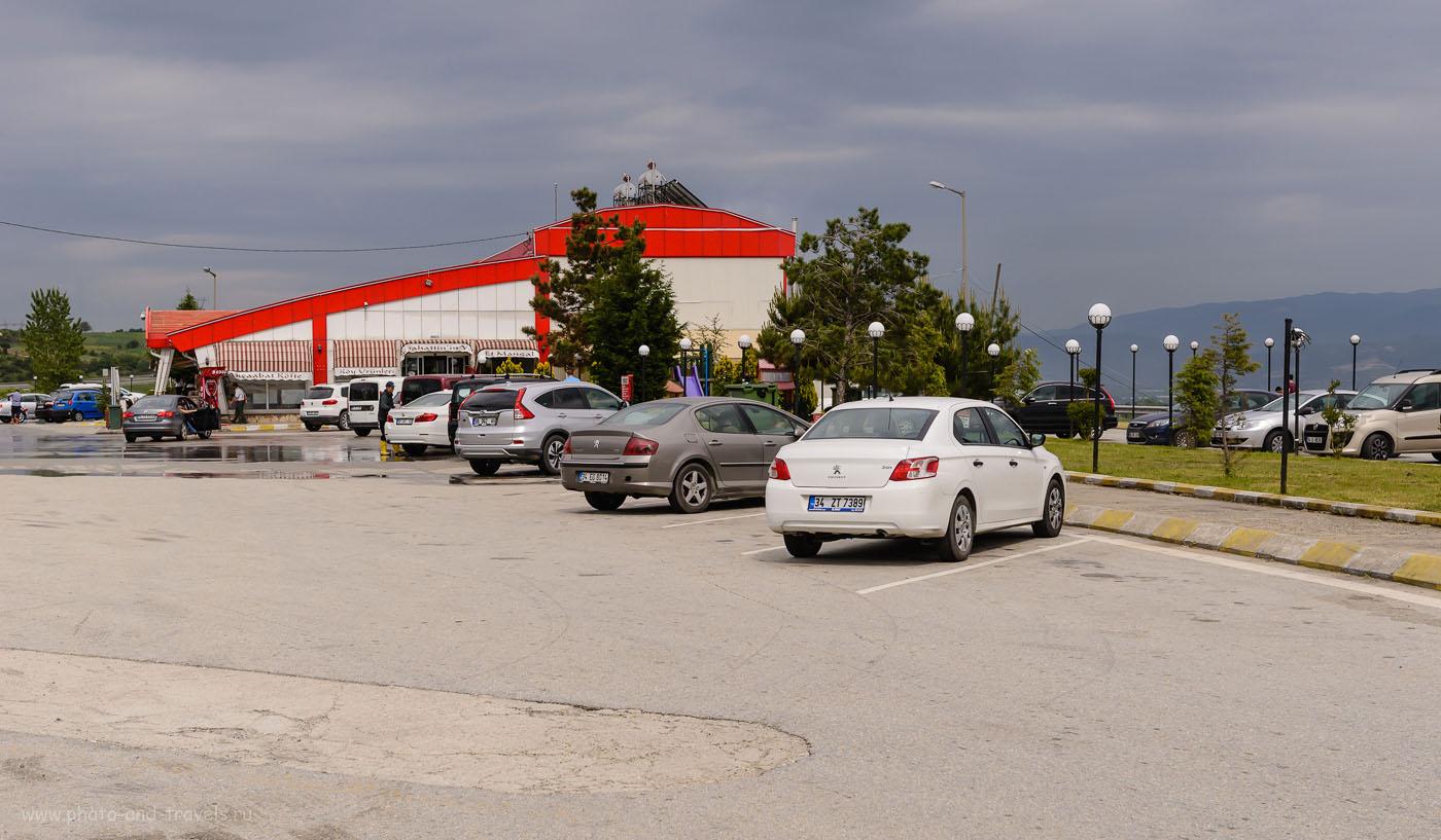 Фото 8. Так выглядит комплекс для отдыха на трассах в Турции. 1/1250, 8.0, 400, 48.