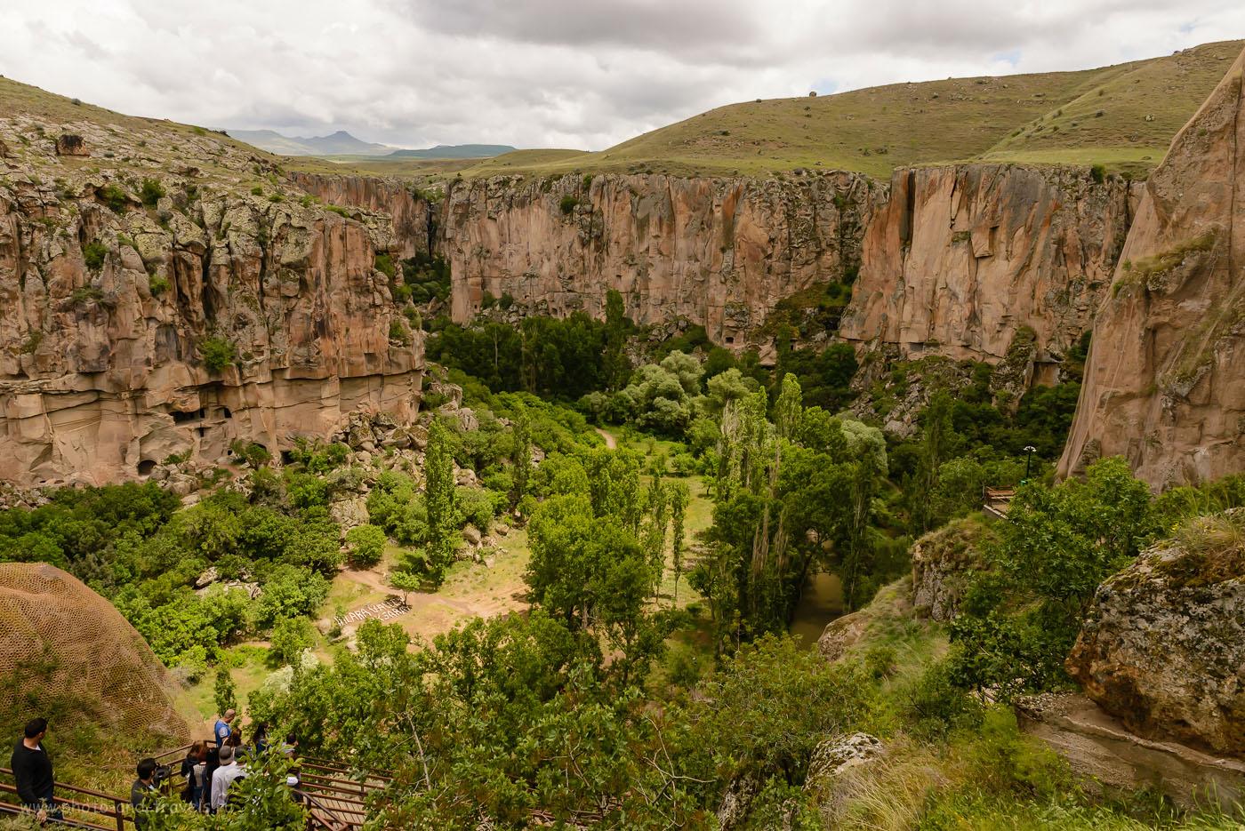 Фото 19. Каньон в долине Ихлара. Отзывы туристов об отдыхе в Турции самостоятельно. 1/1000, -2.0, 8.0, 400, 24.