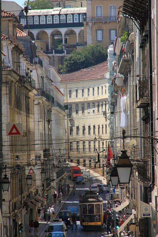Лиссабон, трамвай 28 (Lisbon, tram 28)