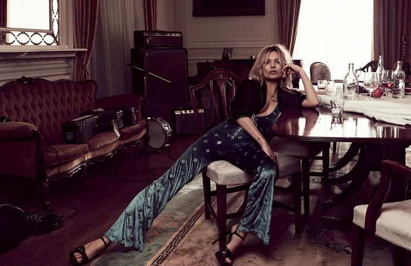 Кейт Мосс Vogue UK (май 2016) фото 7