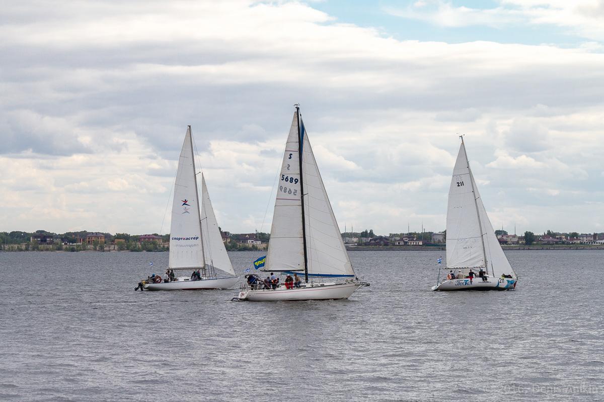 Яхты на Волге 12